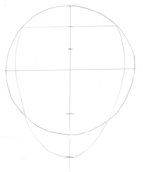 Adjust the shape of the head