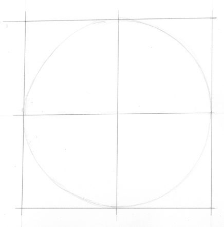 Constructing a cicle from a square