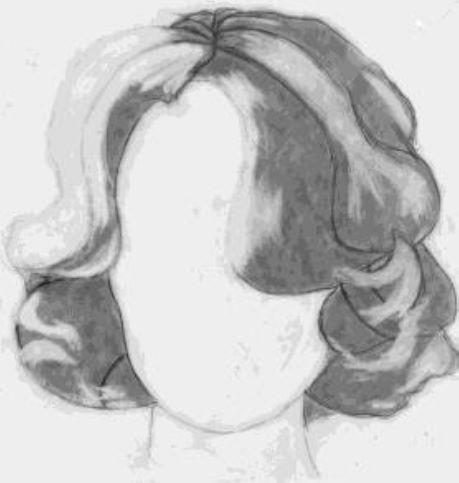 Erasing highlights from mid toned locks of hair