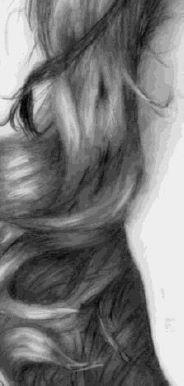 Drawing hair texture