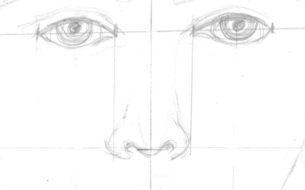 Drawing a nose
