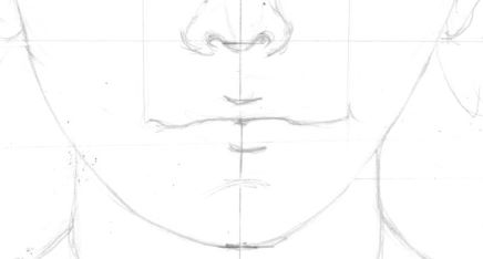 Drawing the mouth