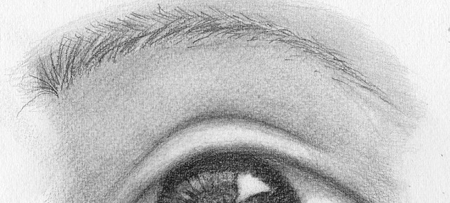 Drawing the eyebrows
